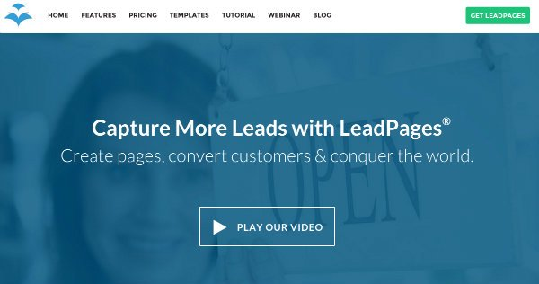 Own It recommends LeadPages.net