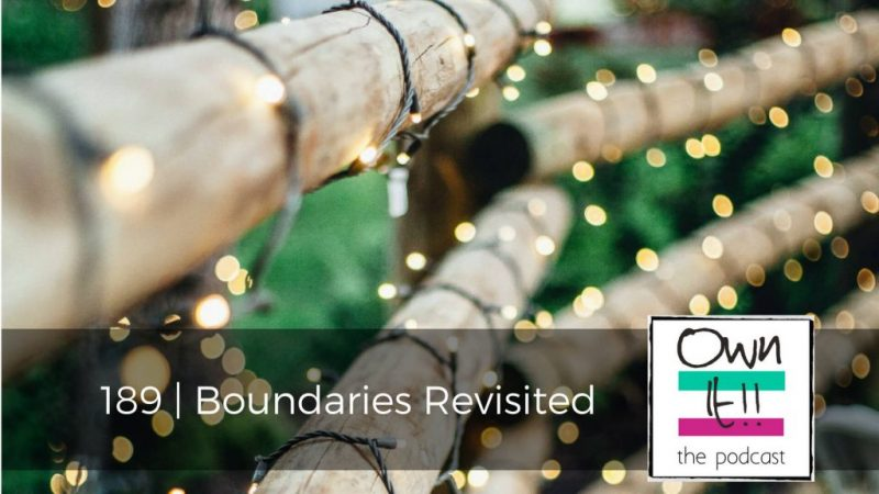 189 | Boundaries Revisited