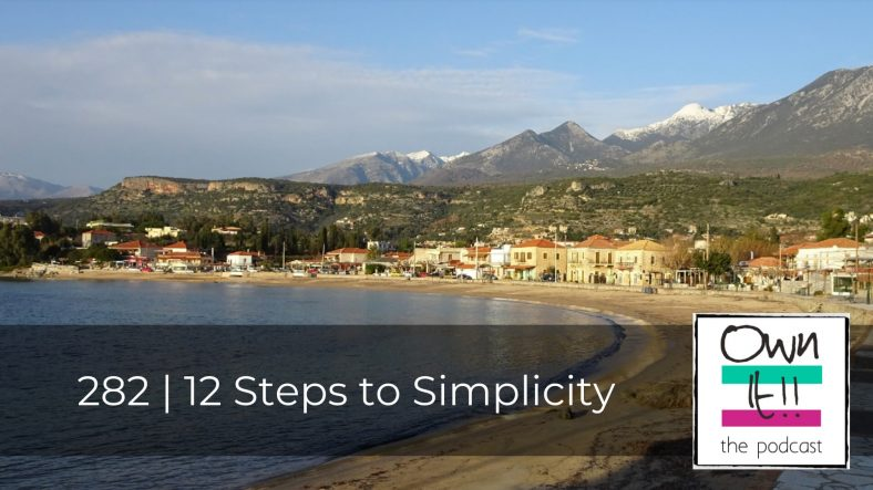 282 | 12 Steps to Simplicity